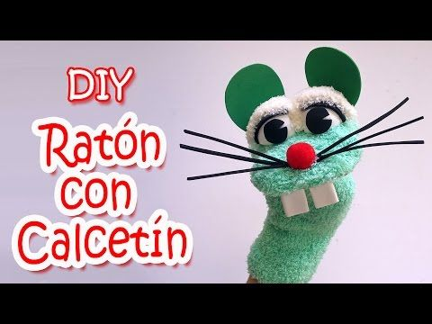 Mouse Sock Puppet - YouTube