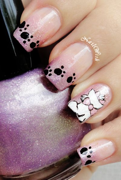 Nail Wish: Disney Challenge Day 19: Los Aristogatos