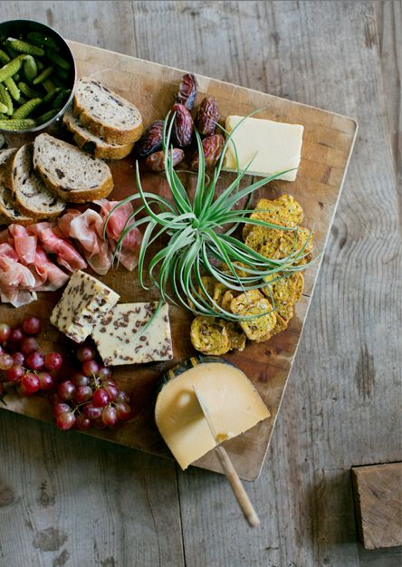 perfectly styled appetizer board