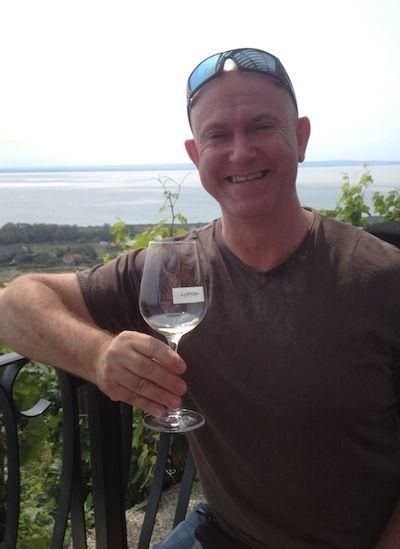Graham wine tasting at Laposa
