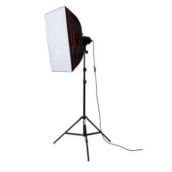 PhotoSEL LS21E51 Kit d'Elairage Lampes Lumière du Jour pour Softbox avec Trépied pour Studio Photo Flash 85W