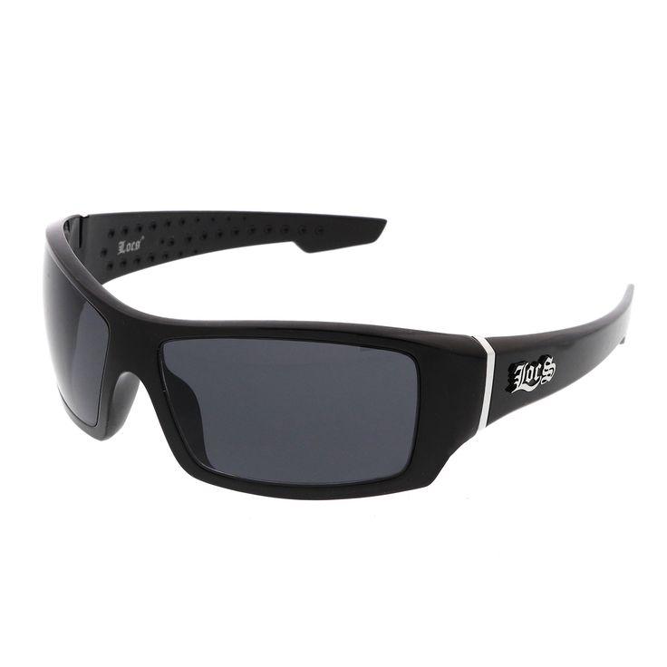 Men's Rapper Hip Hop Metal Accent Dark Lens Rectangle LOCS Sunglasses 65mm  #sunglass #sunglasses #frame #purple #cateye #sunglassla #summer #bold #mirrored #womens