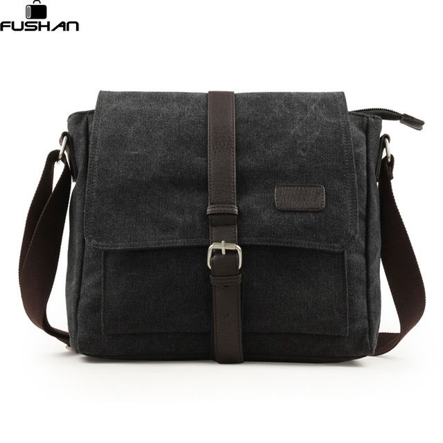 Special price 2017 New Fashion Men Vintage Canvas School Messenger Bag Satchel Brand Military Men Laptop Shoulder Messenger Crossbody Bag just only $22.99 with free shipping worldwide  #crossbodybagsformen Plese click on picture to see our special price for you