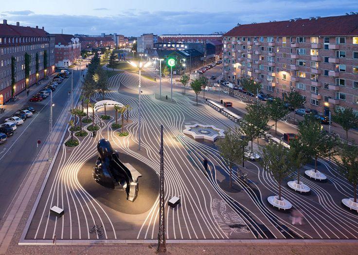 Superkilen park by BIG, Topotek1 and Superflex