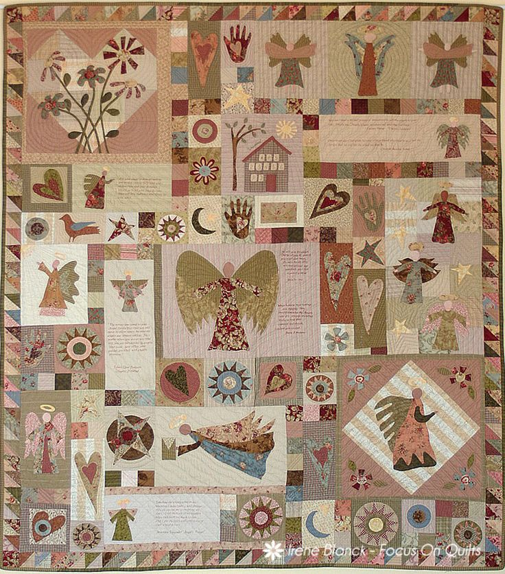 69 best images about Angel quilts on Pinterest
