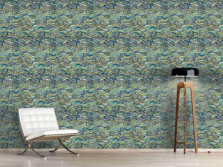 Design #Tapete Stürmische See