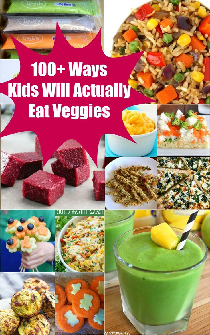 Stop the dinner time battles with these fun and easy ways to get veggies in your kids. There's ideas for every meal...even dessert! Smart vegetable tips for kids!