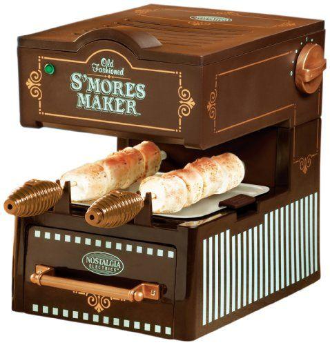 Nostalgia Electrics SMM-100 Vintage Collection Electric S'Mores Maker Nostalgia Electrics http://www.amazon.com/dp/B004ZEMSTI/ref=cm_sw_r_pi_dp_J5EWtb0Y9V216T9E