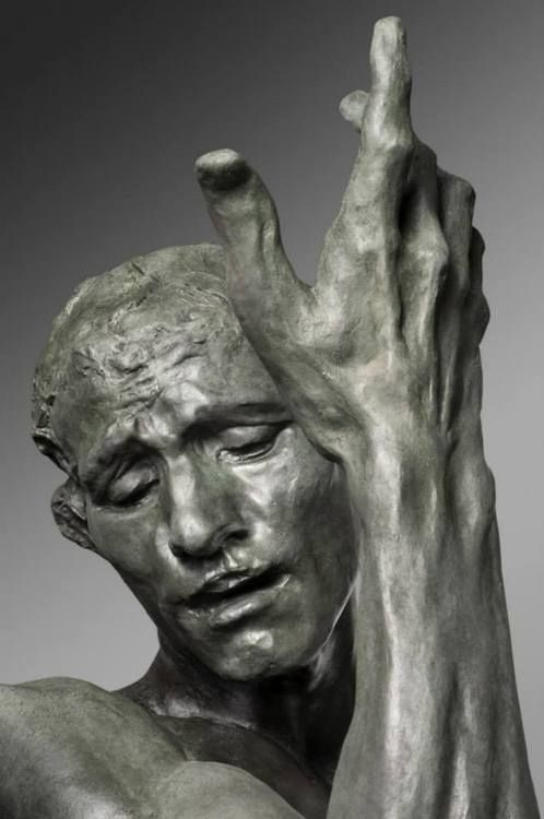 Rodin---You can always spot Rodin by his use of muscle...soooo detailed in all its detail and use.