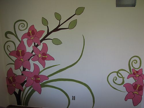 How To Paint A Wall Mural Momspark.net Part 97