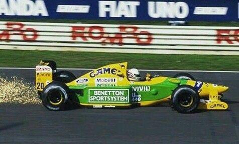 Martin Brundle  BENETTON B192 FORD COSWORTH HBA5/A7 (NA 3.5L-V8) Italian Grand Prix