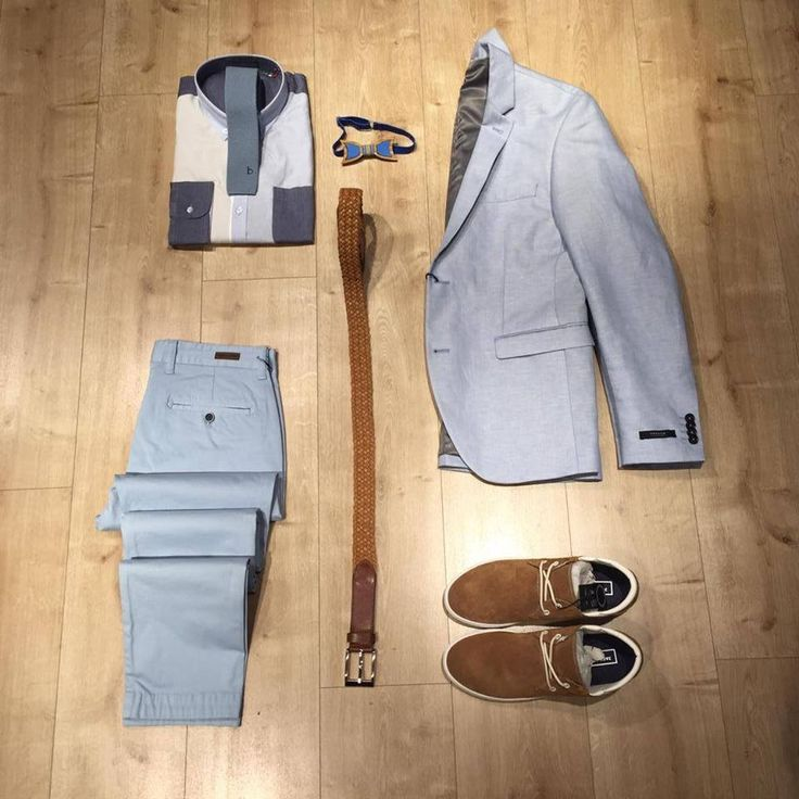Light blue for a chic look!