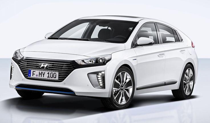 Weltpremiere Hyundai Ioniq: Drei-in-Eins-Elektroauto