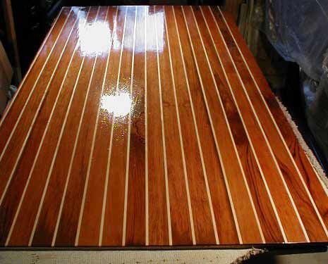 Teak And Holly Cabin Sole Boat Flooring Salt Life