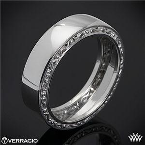 Verragio High Polish Mens Wedding Ring