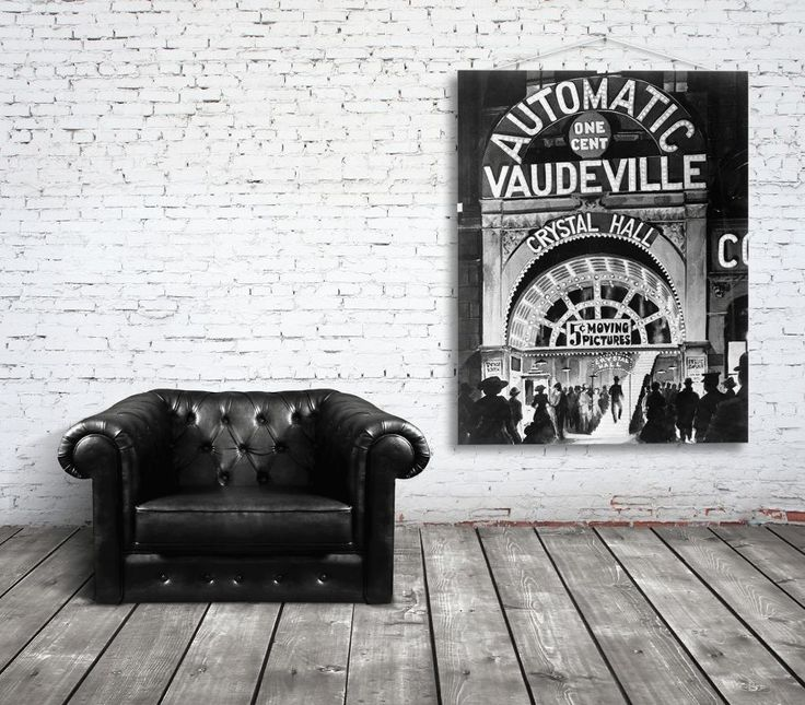 plakat w stylu retro