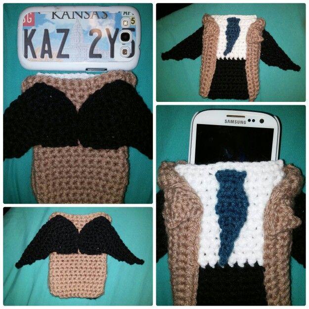 ~Castiel Crochet Phone Case  #Castiel #Supernatural