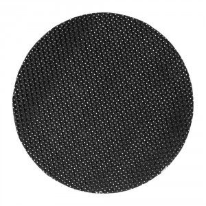 Tablett Sture rund svart