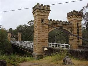 Hampden bridge, Kangaroo Valley, NSW