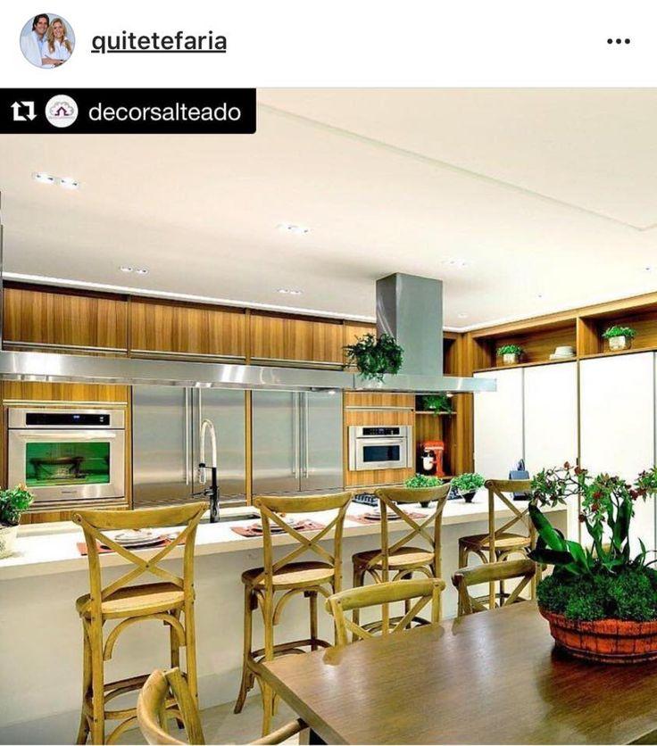 Mais um #projeto nosso publicado pelo site/blog #decorsalteado 😱 Uma das melhores referências de Arquitetura&Decoração do Brasil!!! #quitetefaria #arquitetura #decoracao #kitchen #cozinha #design #instadecor #instahome #homestyle #interiores #escritoriodearquitetura #contrateumarquiteto #gratidao