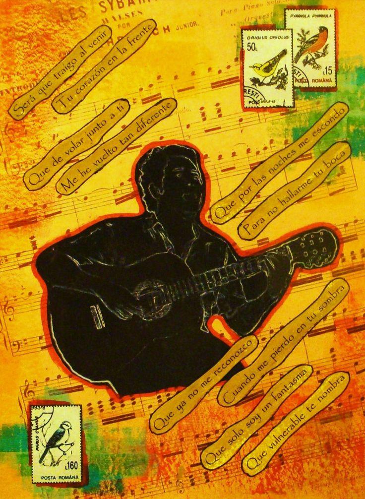 Collage / Tu corazón en la frente / Filio / by Daniel Ponce / www.facebook.com/trazosdesol