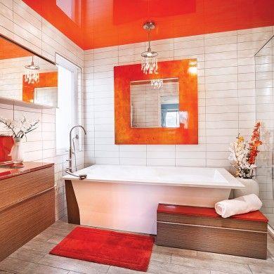 Brillante alliance - Salle de bain  - Inspirations - Décoration et rénovation - Pratico Pratiques