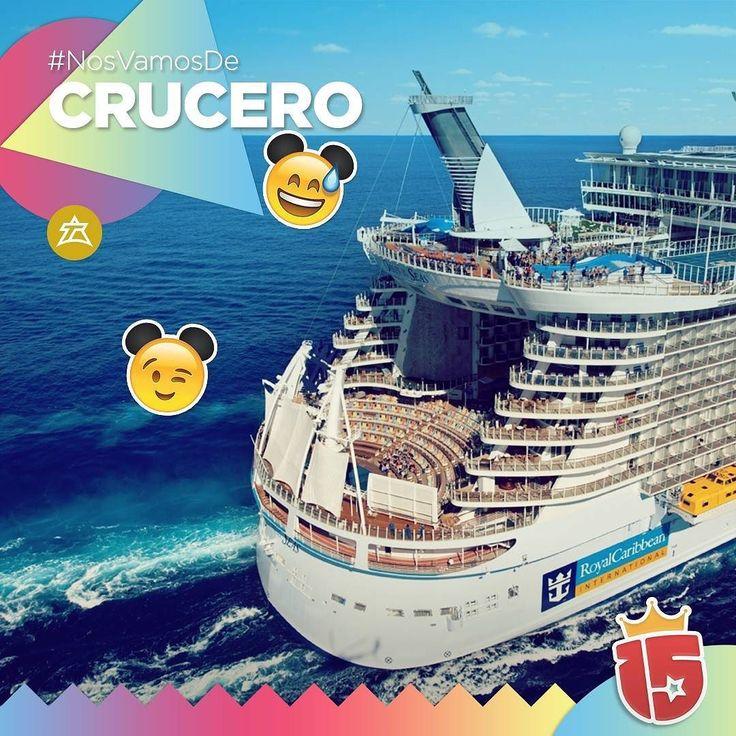 Una experiencia única! Vivir el mar en tu viaje de quinceañera con #Enjoy15!  Con el grupo #doradoJ16 nos vamos de crucero!