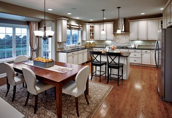 Ellsworth Toll Brothers Kitchen White