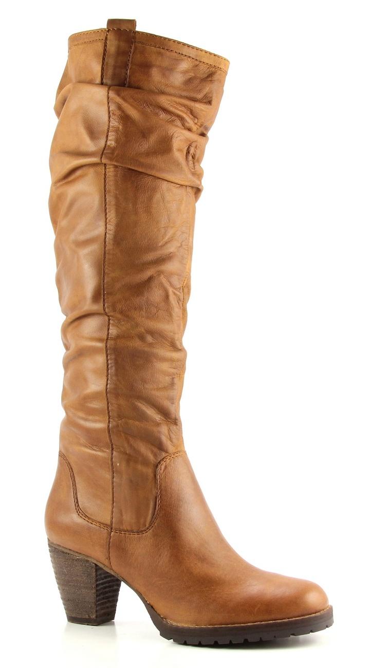 SPM ka6161255 bruine hoge hakken laarzen