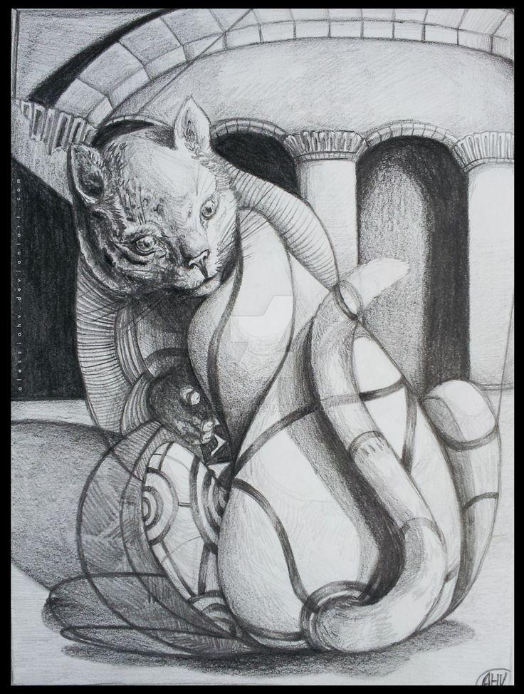 A newborn Sphinx. by AlessiaHV.deviantart.com on @DeviantArt