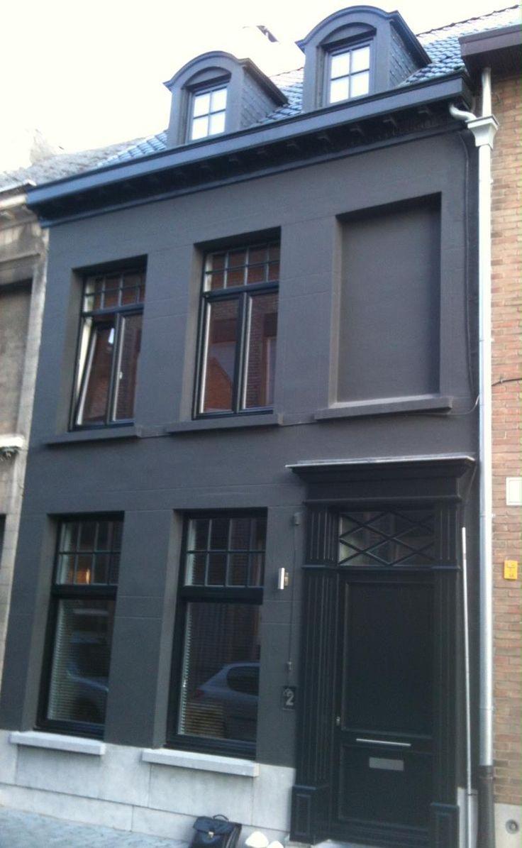 voordeur in ral zwart renovatie .UItvoering door weldimo.