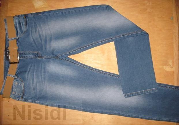 Новые женские джинсы ровного кроя фирмы LADY N с ремнем Днепропетровск - Изображение 2