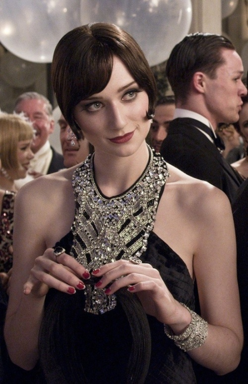 Elizabeth Debicki as Jordan Baker in The Great Gatsby