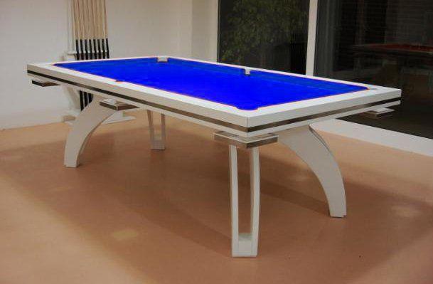 Luxury Roman P40 Slate Bed Pool Table