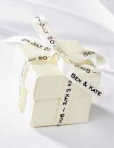 Wedding Favours - Our range of wedding favours is designed to satisfy all wedding favour ideas. Originating from Italy, wedding favours are a wonderful way to show your gratitude to friends and family for sharing your day with you, whatever the occasion.  Traditionally, each guest is given a box or bag containing 5 sugared almonds representing Health, Wealth, Happiness, Fertility and Long Life.