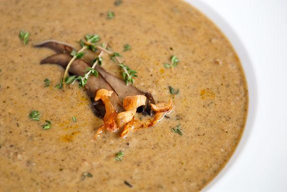Creamy mushroom soup | Soups | Pinterest
