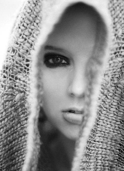 via tumblr: Faces, Hoods, Smoky Eye, Crazy Beautiful, Black Eyeliner, Macabre Photography, Portraits, Beautiful Pics, Black Eye Makeup