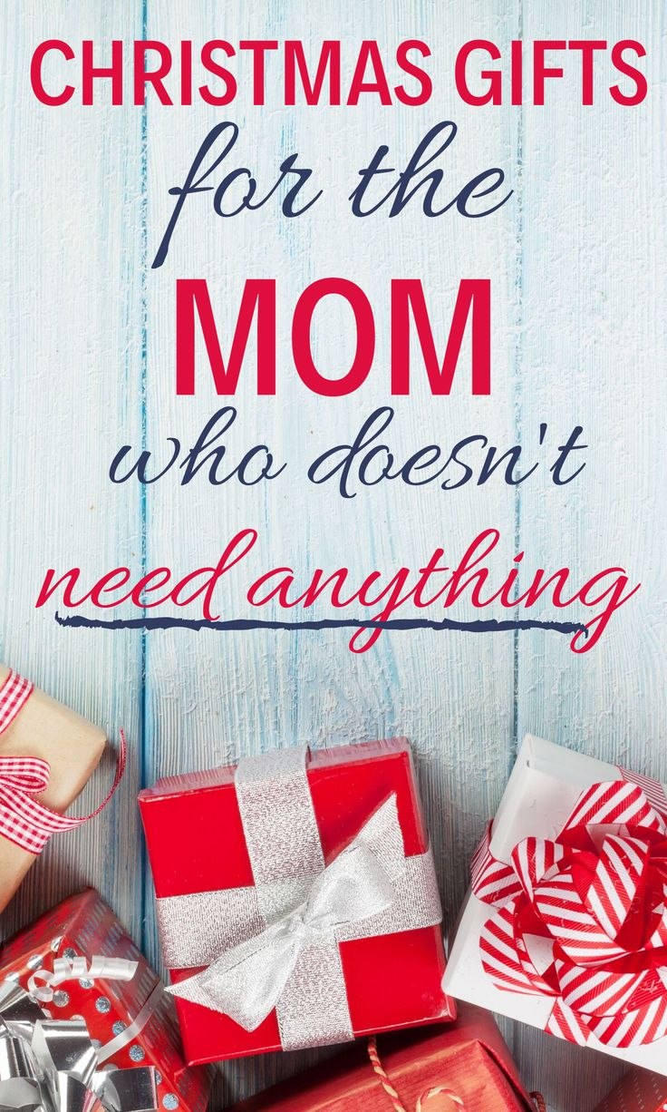 Christmas Gifts For Moms (who don't need anything en 2020