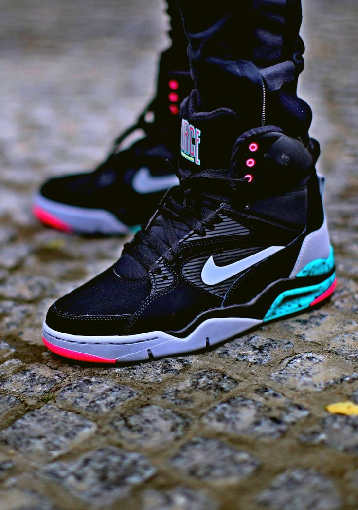 "Nike Air Command Force ""Spurs"" #nike #shoe  Shoe discount and cool clothes at http://www.shoediscount.us"