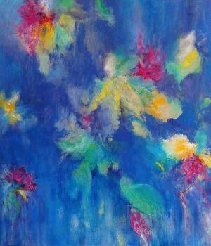 #abstract painting on canvas #mirjamrinkel
