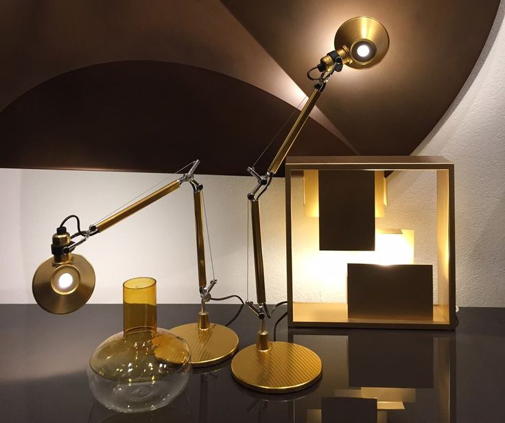 Gold is always a good idea ! The new #Tolomeo Micro Gold ►http://bit.ly/2fjR8Ee #design by Michele De Lucchi & Giancarlo Fassina The iconic #Fato ►http://bit.ly/2eTvDqh #design by Gio Ponti