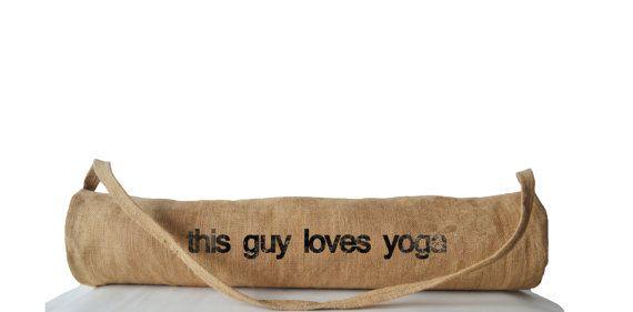 Yoga Mat Bag For Yogi Yoga Sling Totes Printed Yoga by AmoreBeaute