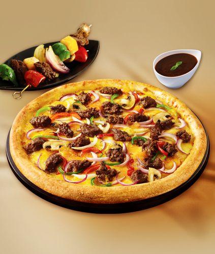 리얼바비큐 피자