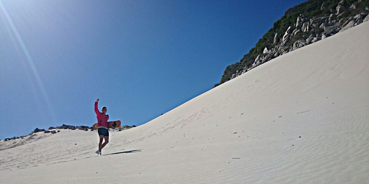 Some sand dunes found in Bettys Bay