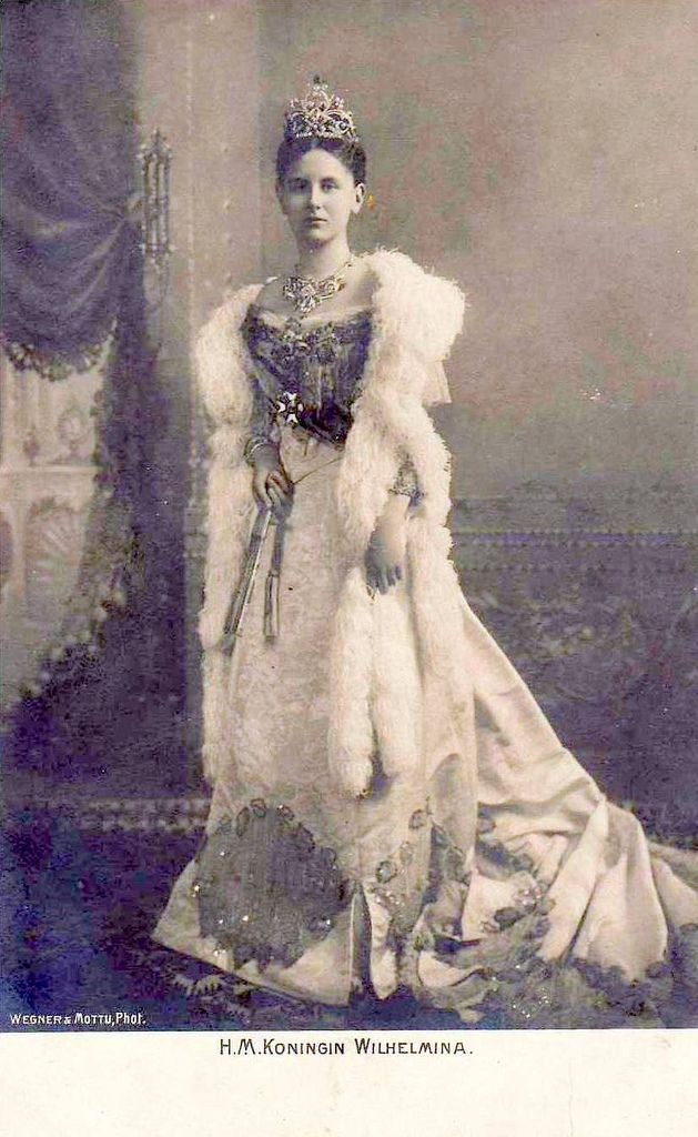 Queen Wilhelmina of the Netherlands.