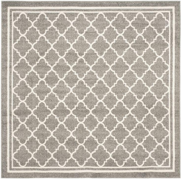 Levon Dark Grey/ Beige Area Rug
