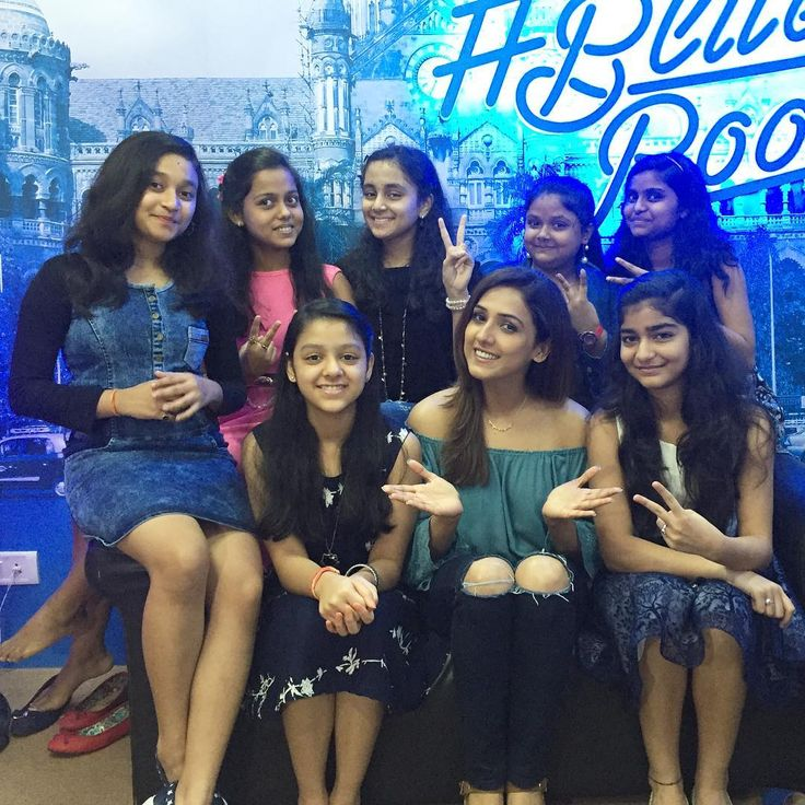 Girl power of #TheVoiceIndiaKids on @TwitterIndia today. Go girls