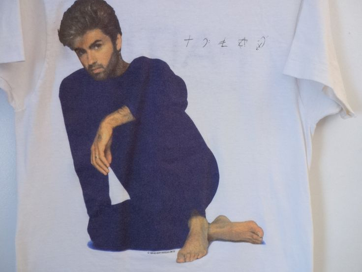 Vintage George Michael Faith Tour Concert T-Shirt..1988 George Michael Faith Tour..1980's Concert T-Shirt..Vintage Concert T-Shirt.. by iloveyoumore on Etsy