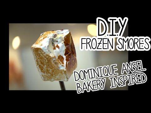 Make Rachell's DIY Frozen Smores using the Kenwood Chef Sense #Singapore #Smore