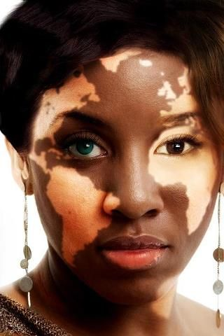 """""""The face of the world""""- a beautiful face that I see as human art! #facesoftheworld @sadierue61"""